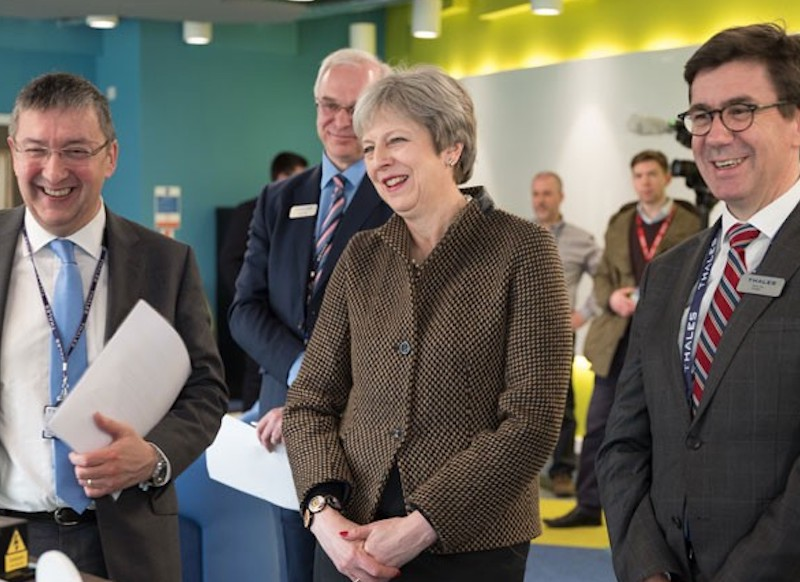New Thales UK Headquarters at Green Park opened by Prime Minister Theresa May